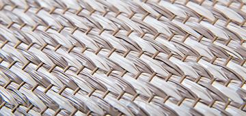 Виниловые плетеные обои