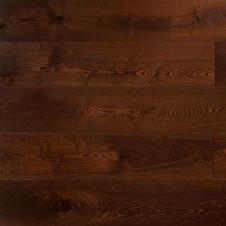 Массивная доска Amber Wood Янтарная Ясень Шоколад