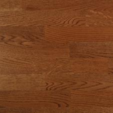 Паркетная доска Timber Дуб красный мокка браш, 3-х полосная