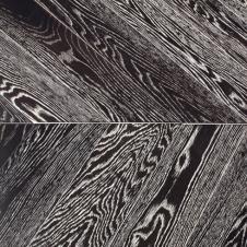Модульный паркет Marco Ferutti Louvre, Дуб Неро браш, французская елка