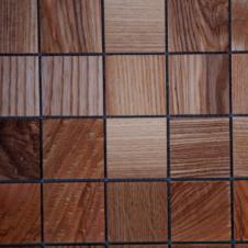Деревянная 3Д мозаика Плитка Дуб