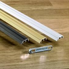 Профиль Quick-Step INCIZO металлический золотой 2700x11x47 мм QSINCPRGOLDME270