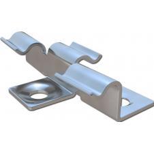 3D Кляймер HILST металл для террасной доски Ecodeck,Darvolex,Holzhof.