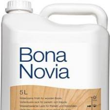 Паркетный лак BONA Новиа полуматовый однокомпонентный 5л