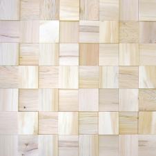 Деревянная плитка из кедра, без покрытия