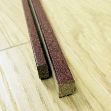 Пробковый компенсатор мелкое зерно покрытие лак 910х10х15мм