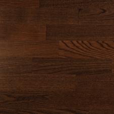 Паркетная доска Timber Ясень коричневый браш, 3-х полосная
