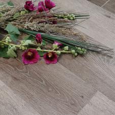 Каменный ламинат Stone floor SPC Дуб Брауни коричневый 1519-8 HP