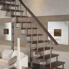 Модульная лестница  Стандарт (прямой марш) шаг 180